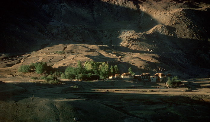 Himalayan mountains, Ladakh village 2